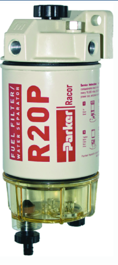 Racor 30 Micron Diesel Spin-On Fuel-Water Seperator, 30 GPH
