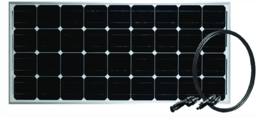 Go Power! GPRETREATE Retreat Solar Expansion Panel, 100 Watts