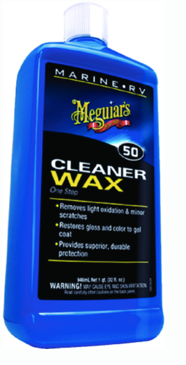 Meguiar's M5032C One Step Cleaner-Wax, 16 or 32 oz