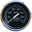 "Faria Chesapeake SS Black 4"" Gauge - 7000 RPM Tachometer (All Outboard)"