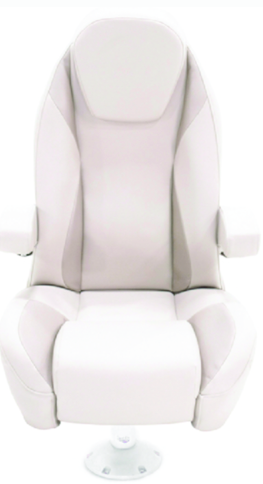 Lippert Platinum Series High Back Reclining Seat w-Arms & Bolster, Dove Grey