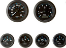 Sierra 68413P Eclipse Series Black Inboard - Sterndrive 6 Set with Tachometer, S