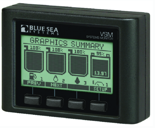 Blue Sea Systems Vessel Systems Monitor VSM 422