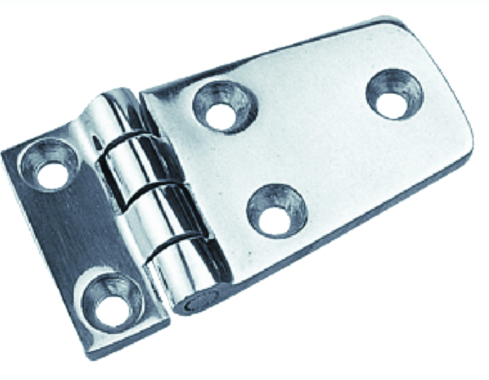 "SeaDog 2053201 Shortside Door Hinge, Cast 316 Stainless Steel, 2-7-8"" x 1-1-2"","