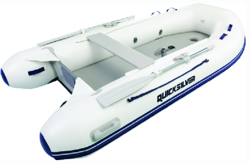 Quicksilver AA300064N Airdeck 300, 3.00m Inflatable Boat w-Inflatable Floor