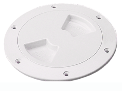 Quarter-Turn Deck Plate w-Internal Collar - Sea-Dog