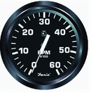 "Faria 32805 Euro 4"" Gauge - 7000 RPM Tachometer (All Outboard)"