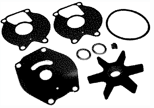 Quicksilver Impeller Kit 710-47-85089Q 4