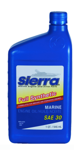 Sierra 30 Wt. Full Synthetic 4-Cycle Marine Engine Oil