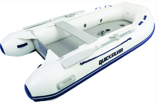 Quicksilver AA320036N Airdeck 320, 3.20m Inflatable Boat w-Inflatable Floor