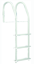 Dock Edge Bright White Howell Galvalume Fixed Dock Ladder With Hardware