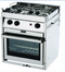 Force 10 FOR63258 Gimballed Gas Galley Range, Euro Compact, 2 Burner w-Oven