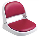 Attwood ProForm Seat, Gray Frame, Red Vinyl
