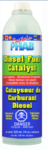 Captain Phab 320 Spar Kleen Diesel Treatment, 1L