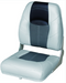 "Blast Off Tour Series Boat Seat 17"" Grey-Charcoal-Black"