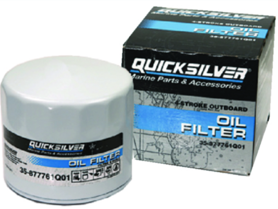 Quicksilver Oil Filter Assembly For Merc-Mariner-Force Replaceable Screw-On Type
