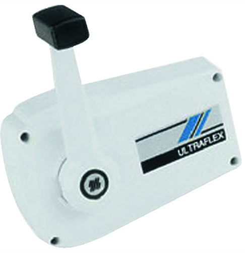Uflex Control Box-Single Lvr-Side Mt-Wt