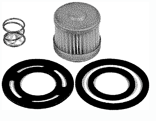 Quicksilver Fuel Filter Kit For MCM 120-2.5L, 140-3.0L-LX, 3.7L, 3.8L & 4.3L Eng