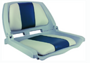 Springfield Traveler Seat, Gray Shell w-Blue & Gray Cushions