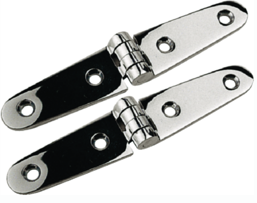 "4"" Stainless Strap Hinge"