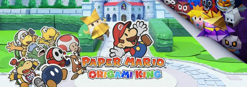Paper Mario: The Origami King - kolaž zabave