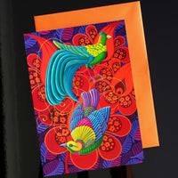 NEW 'Birds of paradise' card