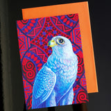 'Grey falcon' card