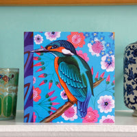 'Kingfisher' card