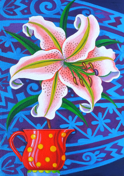 'Lily' card