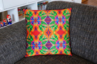 'Kite' velvet cushion