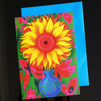 'Sunflower' card