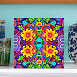 NEW 'Sunflower pattern' card