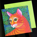 'Tiger cat' card