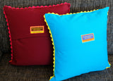 'Marigolds' cushion (yellow)