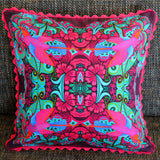 'Flying bird' cushion (pink)