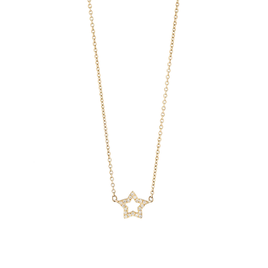 From Here to Eternity diamond star necklace