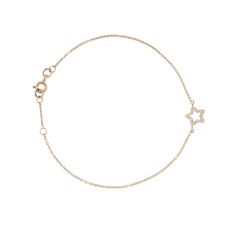 From Here to Eternity diamond star bracelet