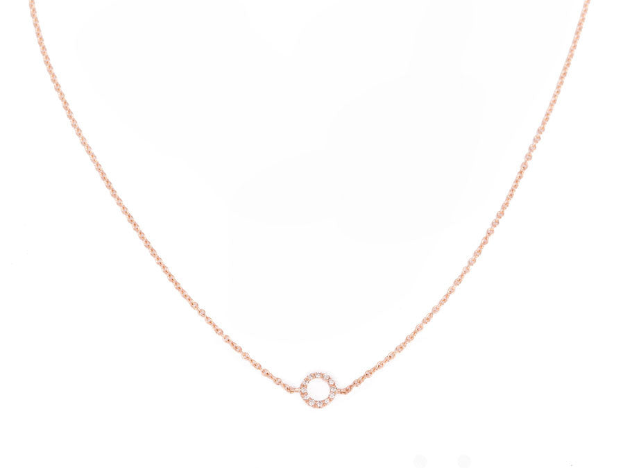 From Here to Eternity diamond necklace