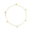 Little Rays of Light gold bracelet
