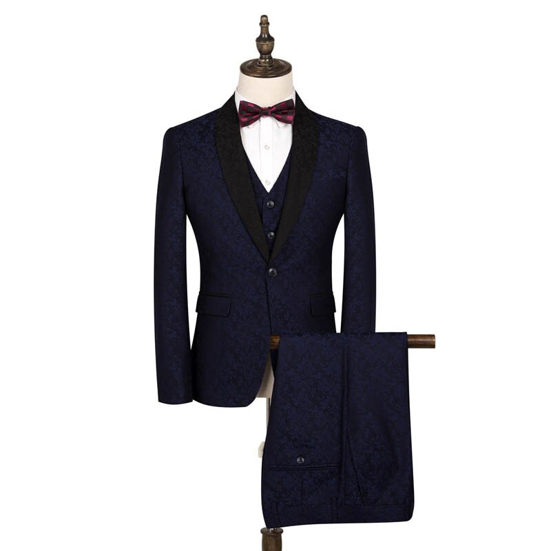 FOLOBE Groom Wedding Suit