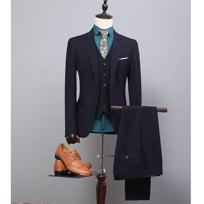 FOLOBE Men Wedding Suit