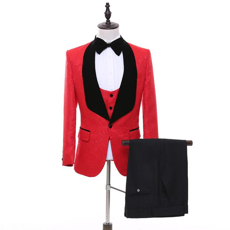 FOLOBE One Button Designer Suit
