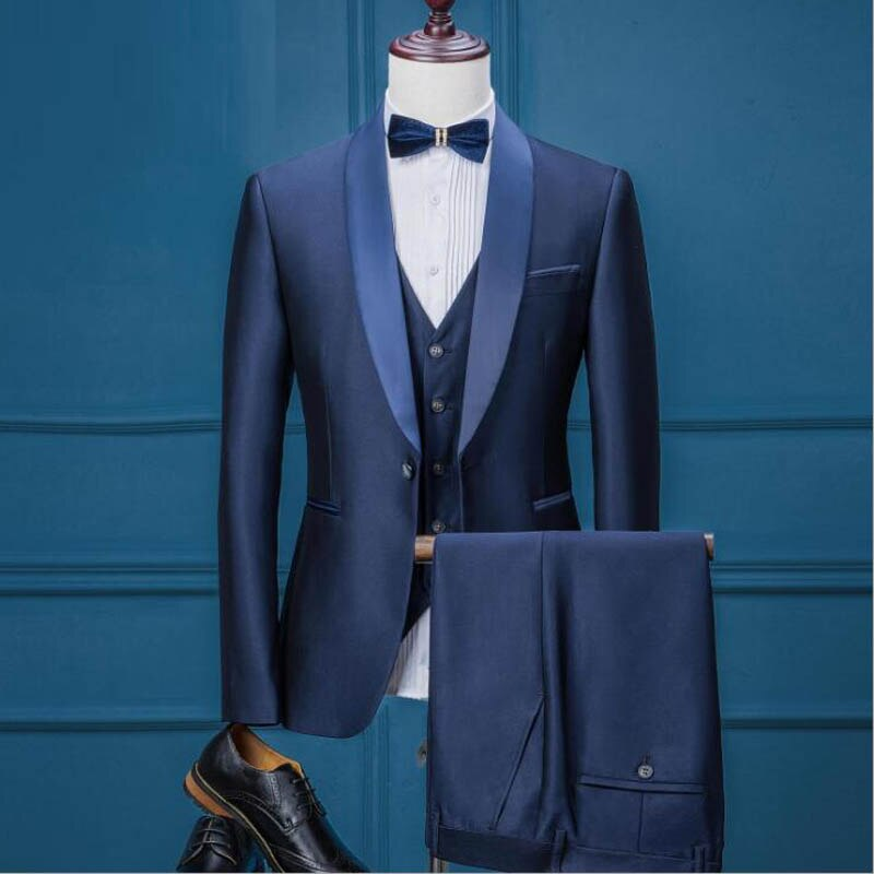 FOLOBE Single Button Designer Suit