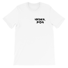 Load image into Gallery viewer, UNDERDOG Small Logo Short-Sleeve Unisex T-Shirt
