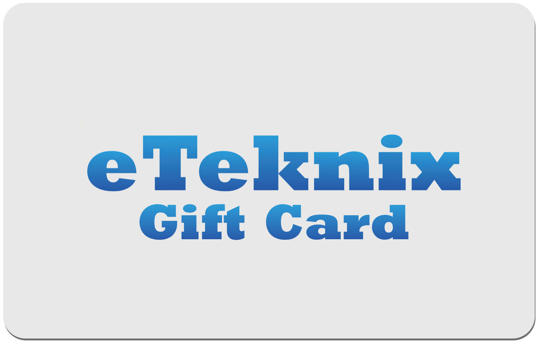 eTeknix Store Gift Card