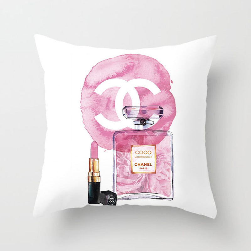 Chanel Coco Decorative Couch Pillow