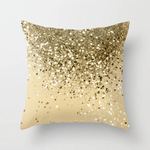 Purple Sparkle Magic Sequin Mermaid Glitter Bling Decorative Pillow Cushion