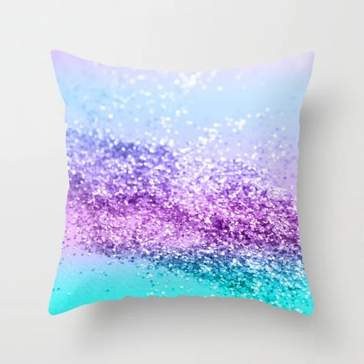 Cool Sparkle Magic Sequin Mermaid Glitter Bling Decorative Pillow Cushion