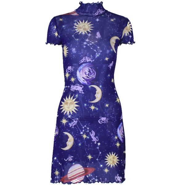 fashion galaxy star dress