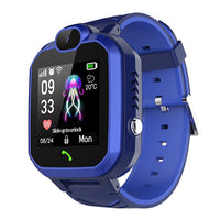 Child smart watch touch screen camera positioning